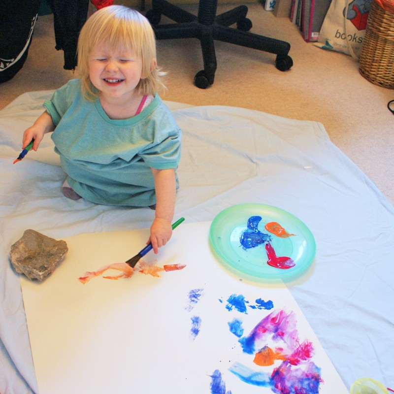 Little Miss Painting 2010