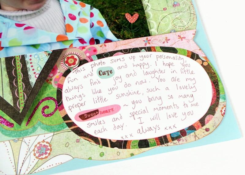 I Love You layout at Jennifer Grace Creates