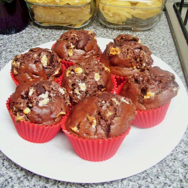 Rocky Road Muffins at Jennifer Grace Creates