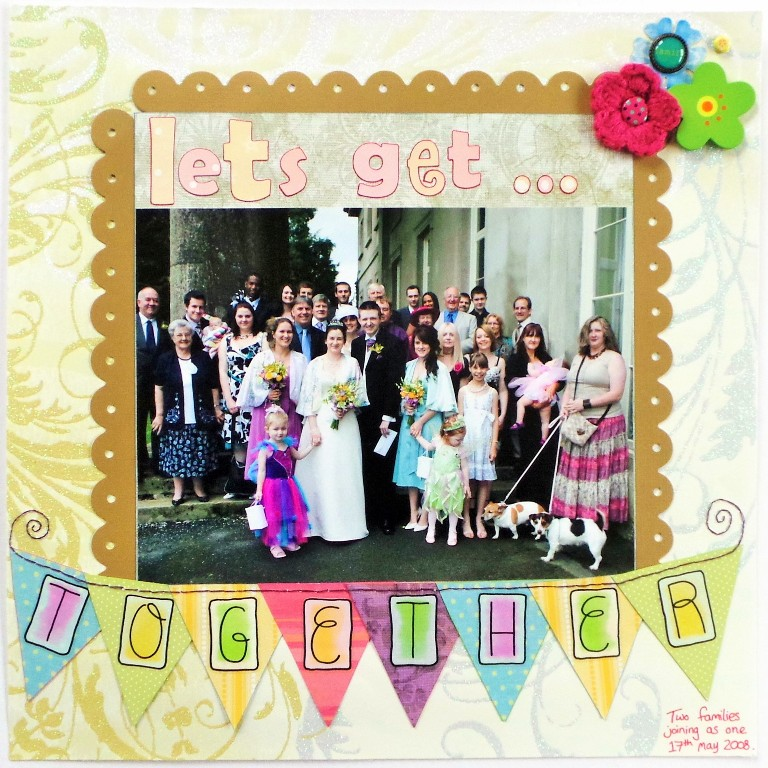 Let's Get Together layout at Jennifer Grace Creates