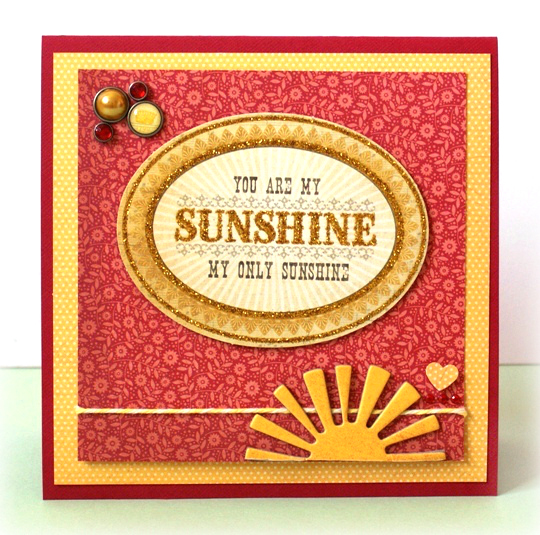 You Are My Sunshine Card at Jennifer Grace Creates