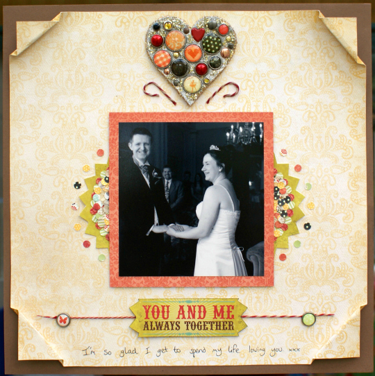 You & Me Layout at Jennifer Grace Creates