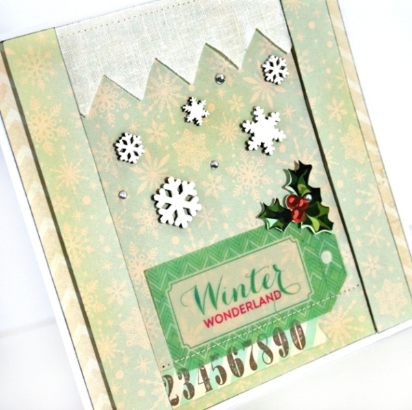 A Winter Card Inspired By A Picture Book at Jennifer Grace Creates