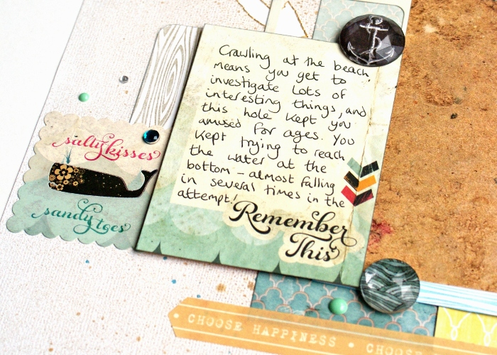 Dig Deep by Jennifer Grace using Glitz Uncharted Waters