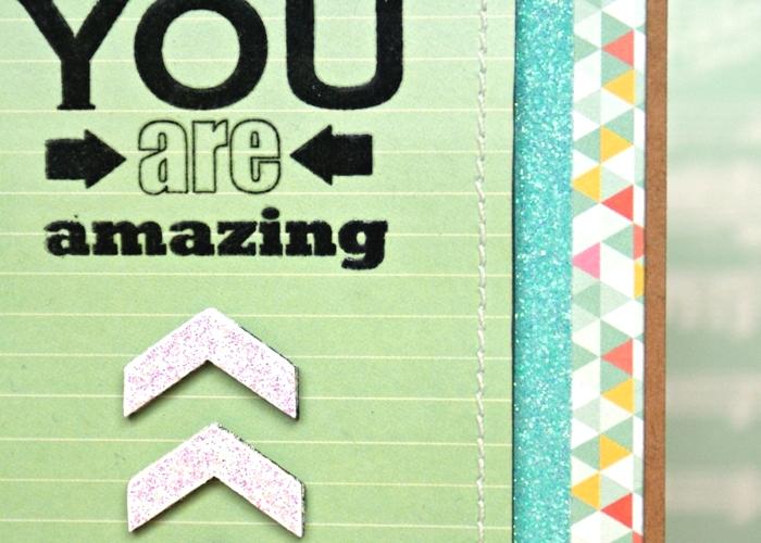 You are Amazing card by Jennifer Grace