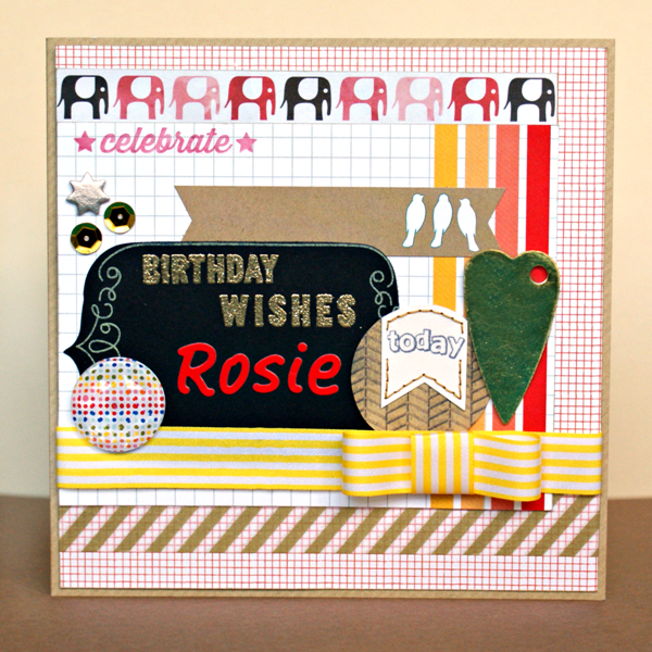 Birthday Wishes Rosie by Jennifer Grace