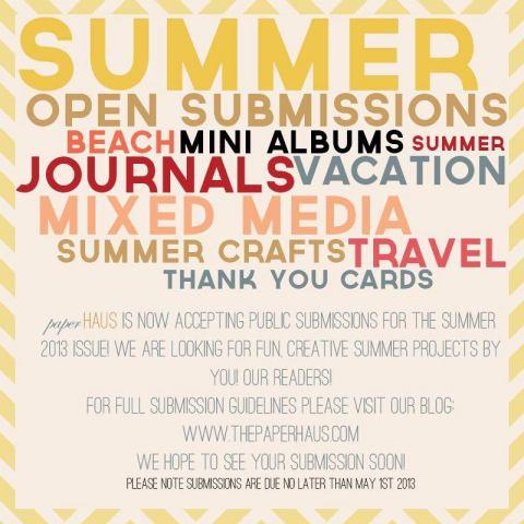 Submit to PaperHaus Magazine