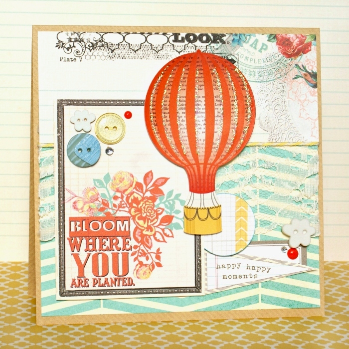 Bloom card by Jennifer Grace