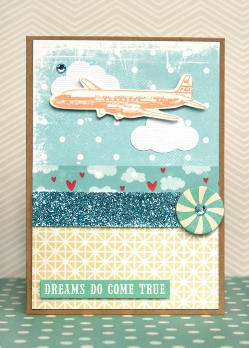Dreams Do Come True card by Jennifer Grace