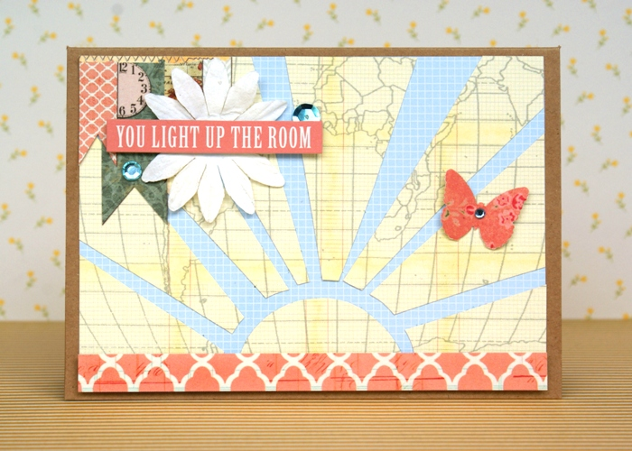 You Light Up The Room card by Jennifer Grace