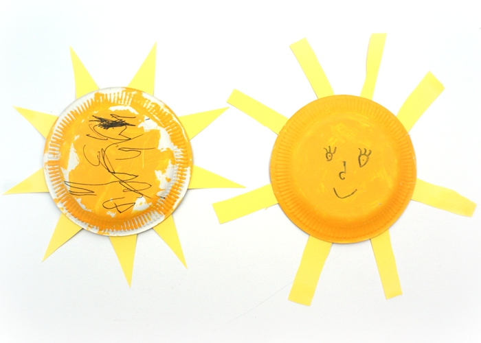Kids Craft Suns at Jennifer Grace Creates