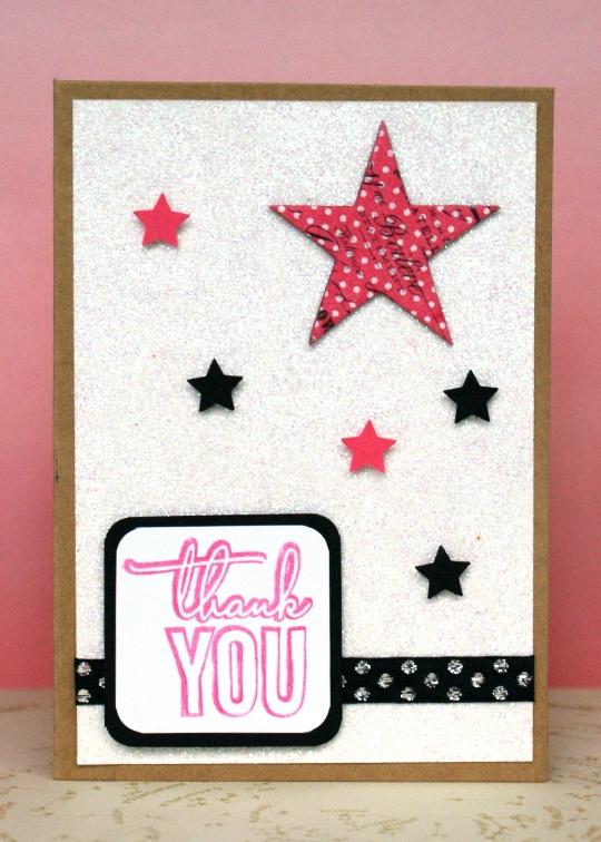 Thank You Stars Card by Jennifer Grace