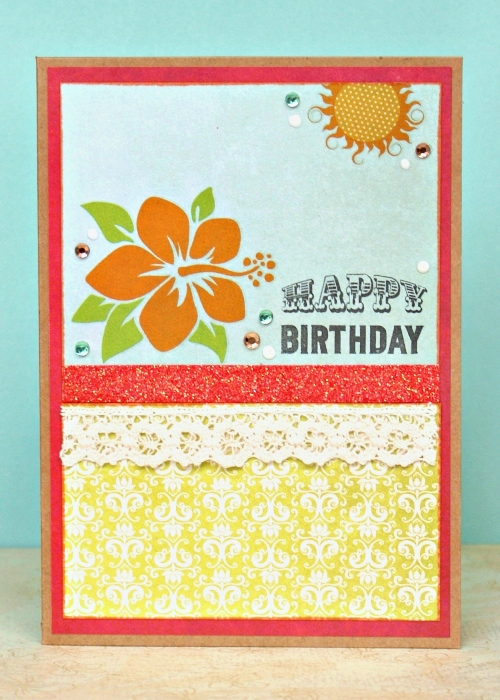 Happy Birthday Card by Jennifer Grace