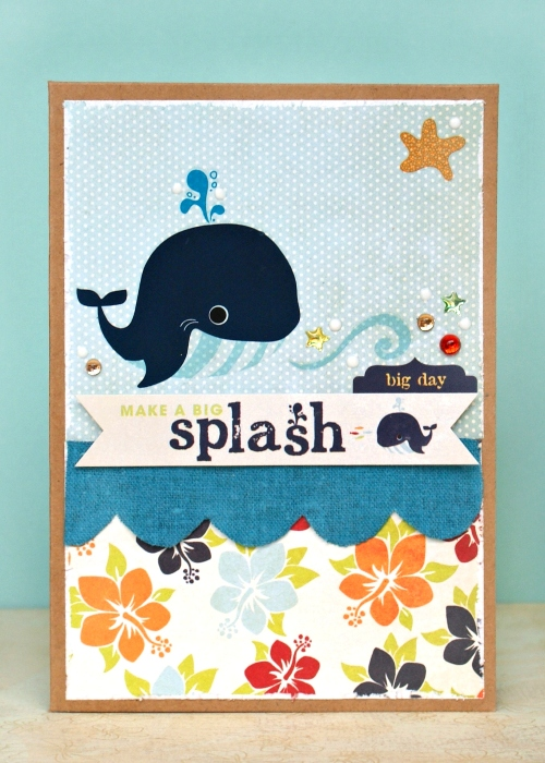 Make A Big Splash Card by Jennifer Grace