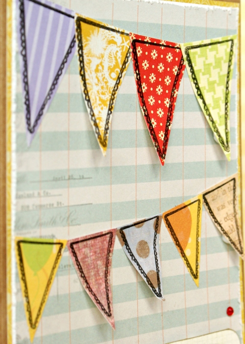 fluttery bunting