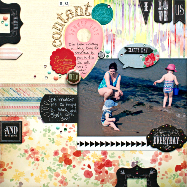 So Content layout by Jennifer Grace