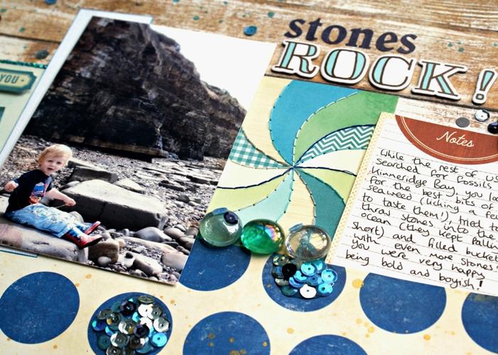 Stones Rock by Jennifer Grace