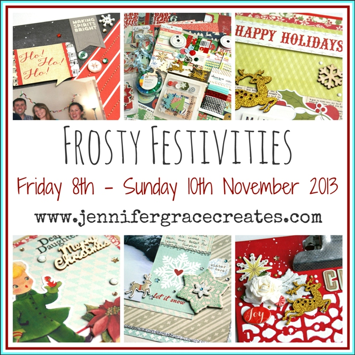 Frosty Festivities Event at Jennifer Grace Creates