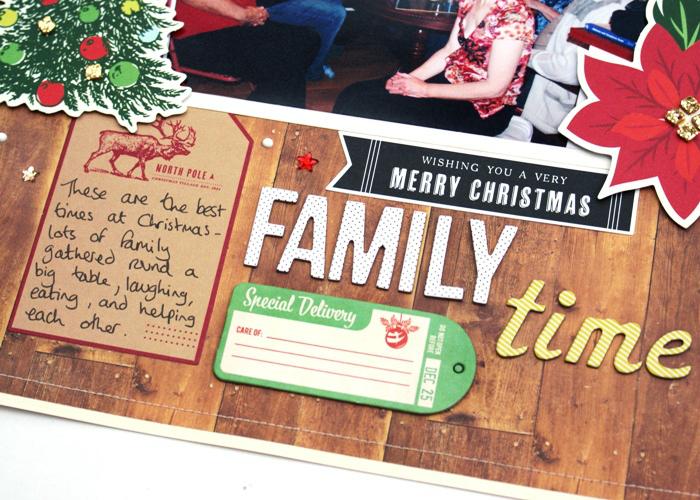 Family Time layout by Jennifer Grace