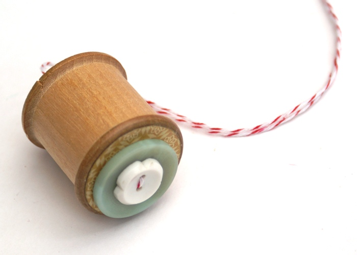 Spool Ornament Tutorial by Jennifer Grace