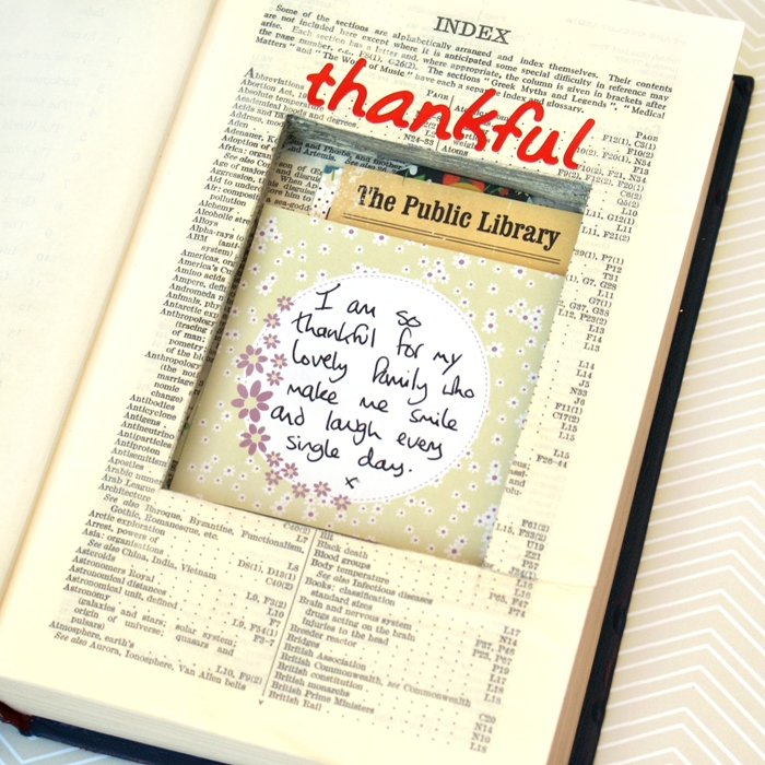 Book of Thanks by Jennifer Grace