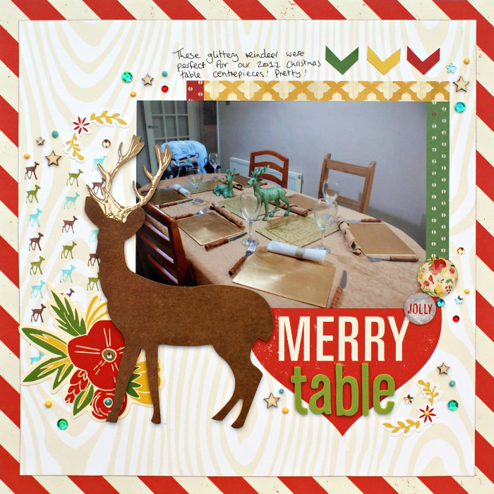 Merry Table Layout by Jennifer Grace