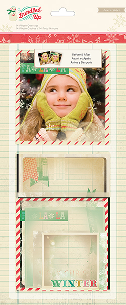 Crate Paper Bundled Up Photo Overlays