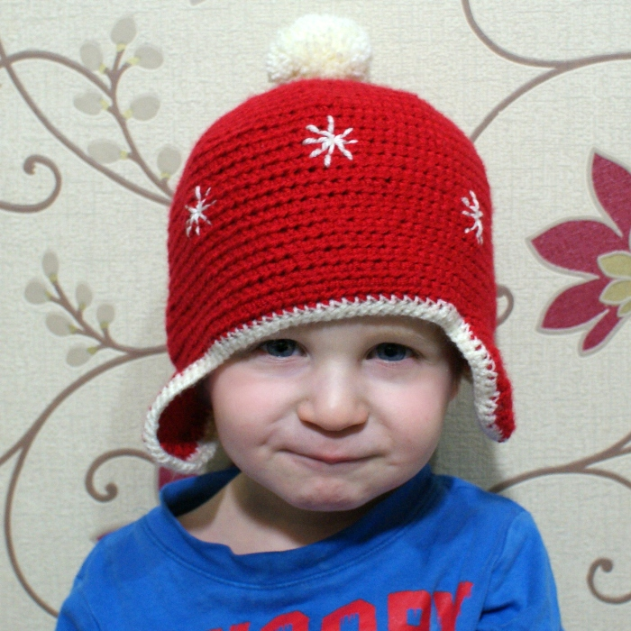 Cosy Crochet Hat by Jennifer Grace