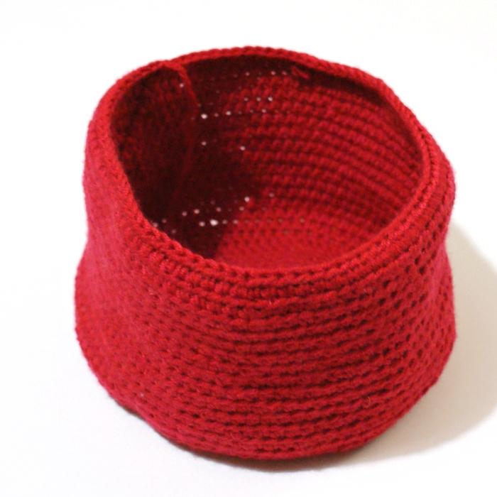 Crochet Hat in Process
