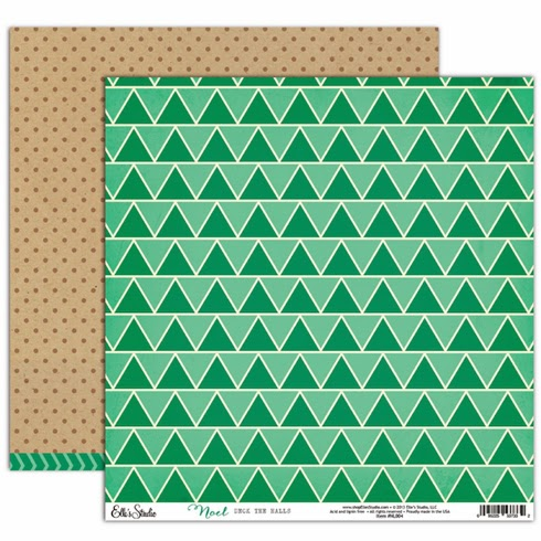 Deck the Halls paper by Elle's Studio