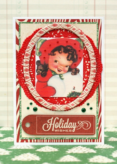 Holiday Wishes Card by Jennifer Grace