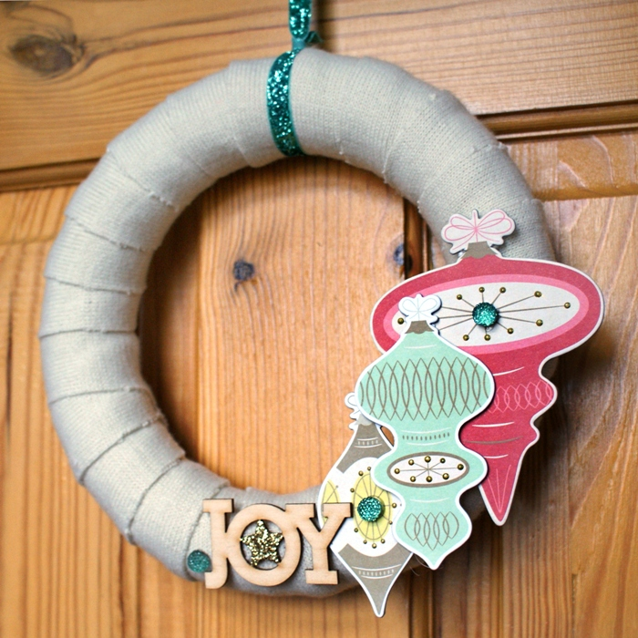 Woolly Winter Wreath by Jennifer Grace