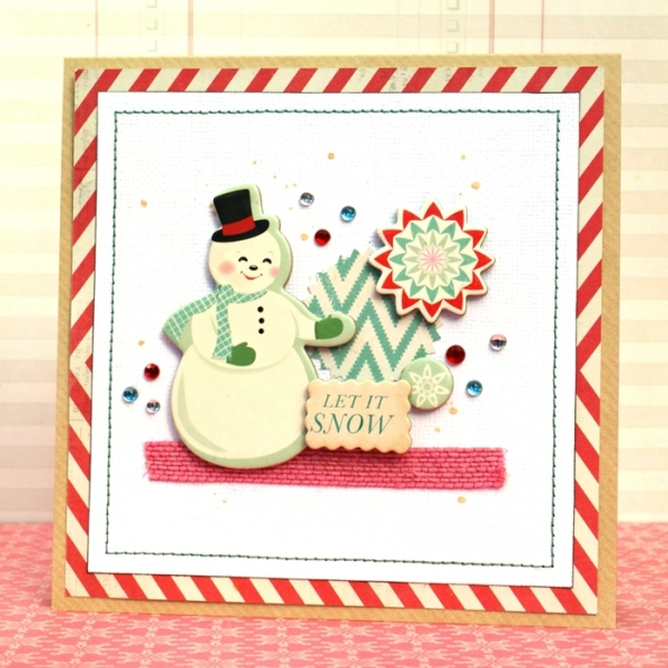 Pile It Up Christmas Cards at Jennifer Grace Creates