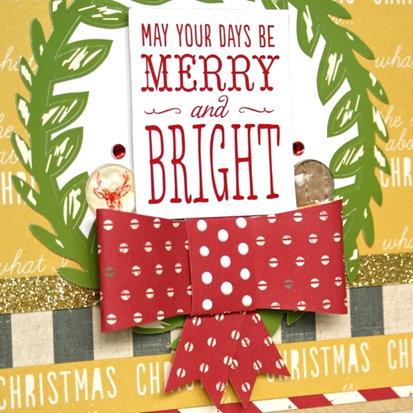 May Your Days Be Merry card by Jennifer Grace