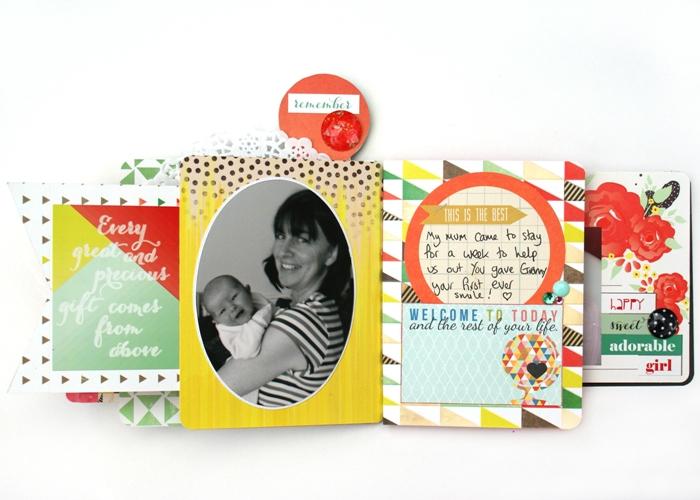 Baby Girl Mini Book by Jennifer Grace