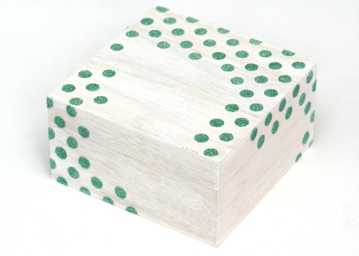 Winter Trinkets Box by Jennifer Grace Creates
