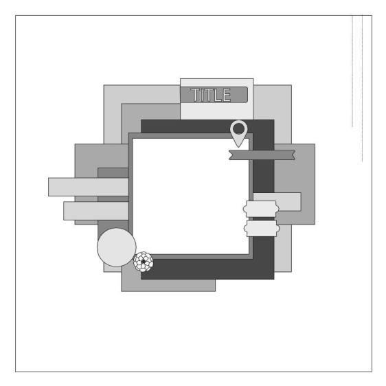 March Scrap365 Sketch Challenge
