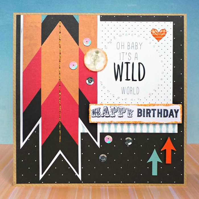 Glitter & Glitz Birthday Card by Jennifer Grace