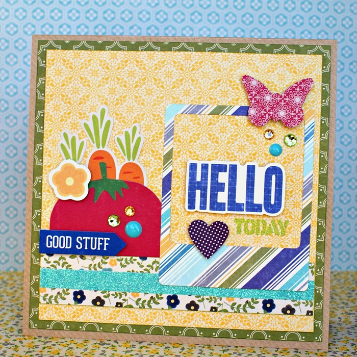 Hello Today Card by Jennifer Grace