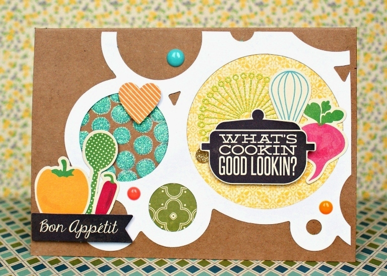 What's Cookin' card by Jennifer Grace