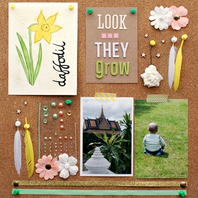 SJ Crafts April Challenge Mood Board