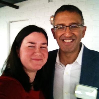 Selfie with Ashish Arora
