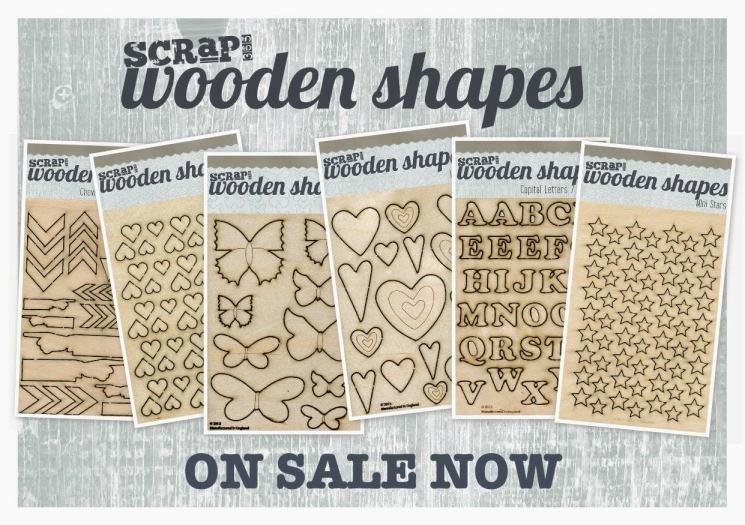 Scrap365 Wood Shapes
