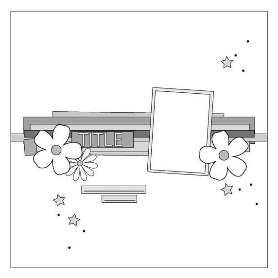 Scrap 365 June Sketch