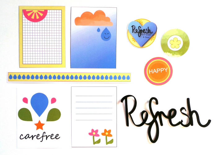 Free Printables for the Refresh Your Craft & Soul Event at Jennifer Grace Creates