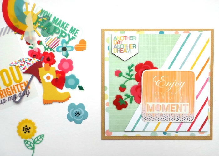 Enjoy Every Moment card by Jennifer Grace