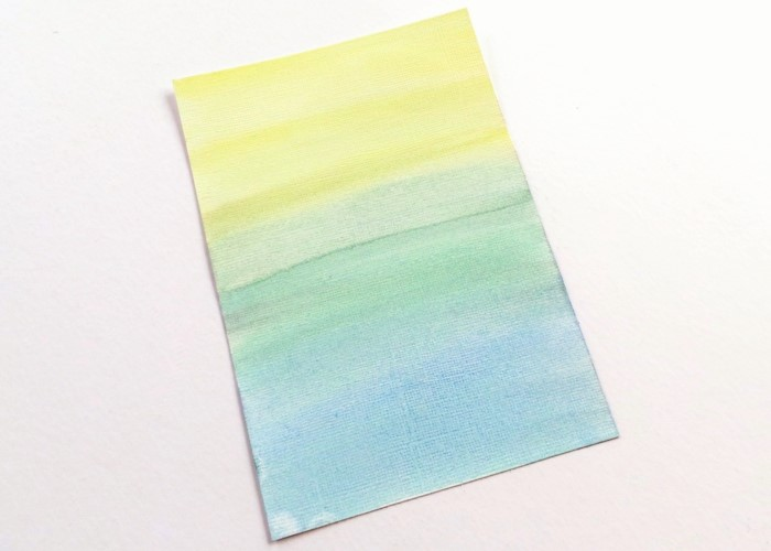 A Wash Of Watercolour card by Jennifer Grace