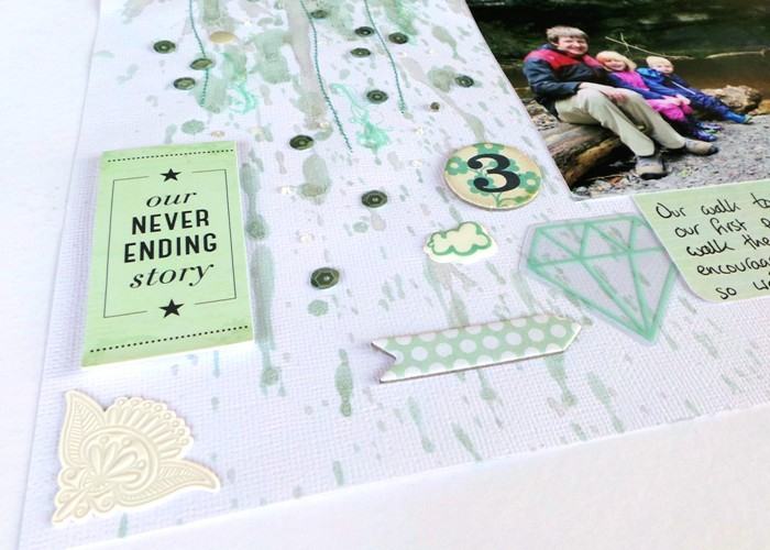 Journey Together layout by Jennifer Grace
