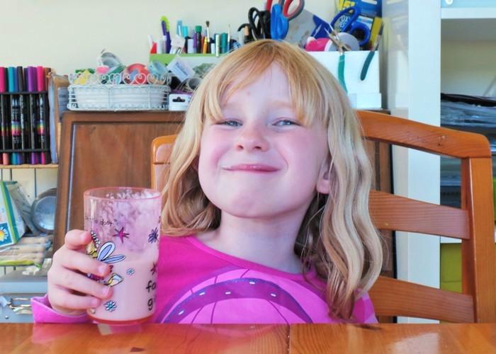 Pear and Banana Milkshake at Jennifer Grace Creates