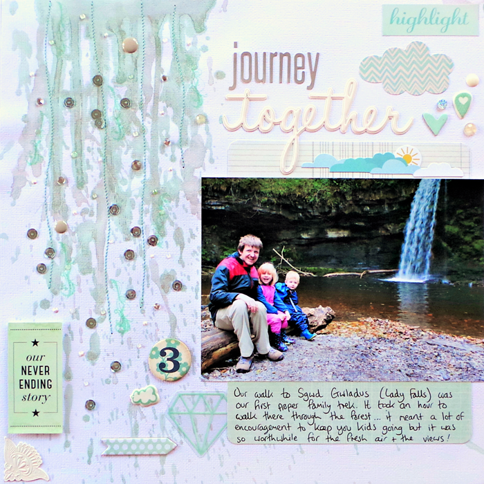 Journey Together layout by Jennifer Grace
